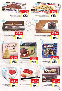 CATALOG Carrefour Craciun decembrie 2018 torturi de Craciun