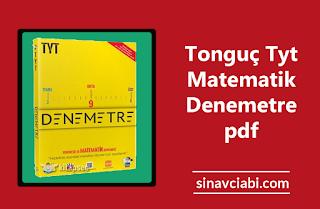Tonguç Tyt Matematik Denemetre pdf