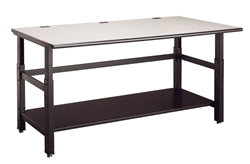 Techworks Height Adjustable Table