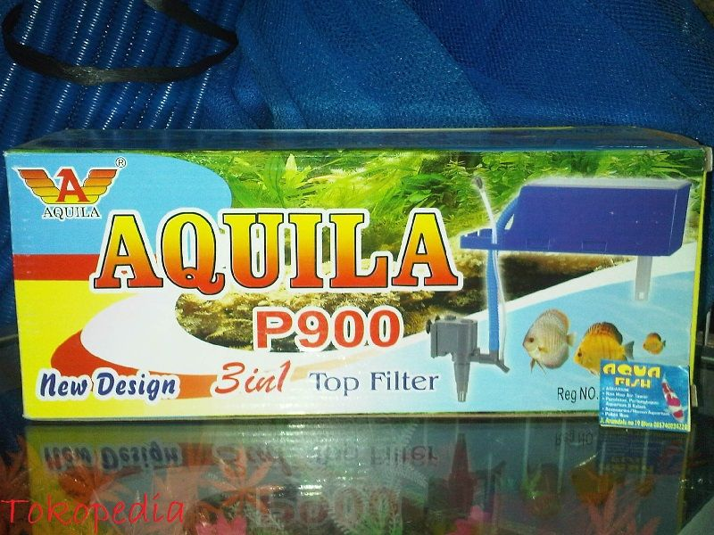 Gambar Filter Aquarium Air Tawar Aquila p900