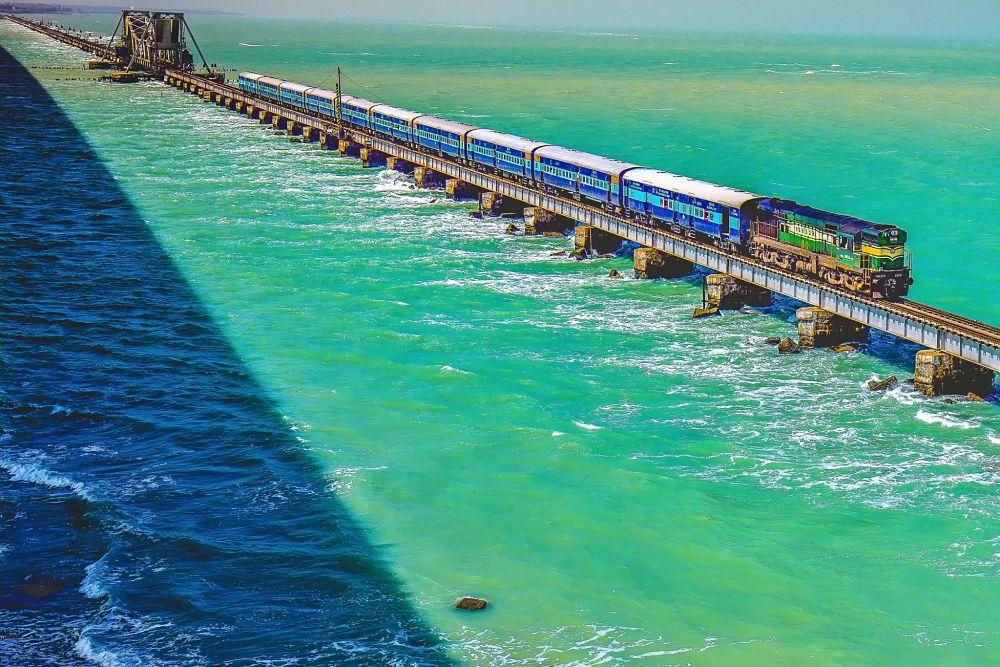 Pamban Bridge Rameshwaram