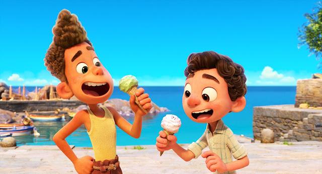 迪士尼 與 彼思 盛夏友晴天 初版預告片, Disney and Pixar's Luca
