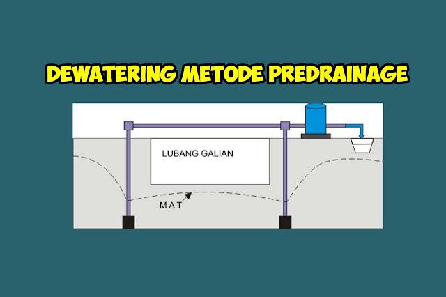 Dewatering Metode Predrainage