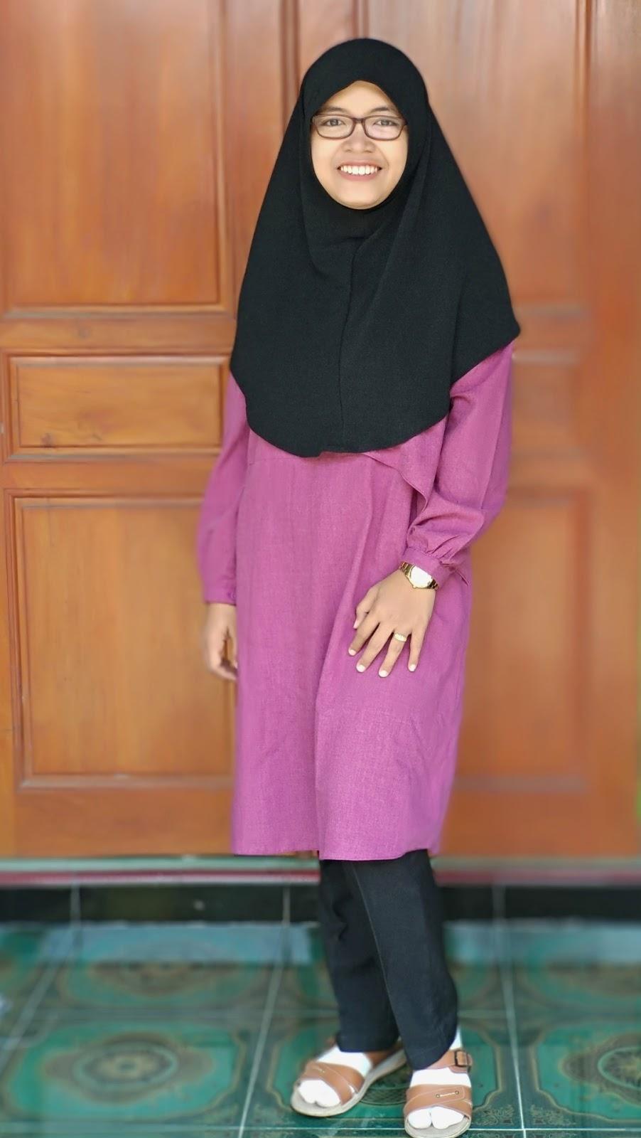 jilbab syar'i untuk pipi tembem
