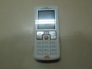 Sony Ericsson W800 Walkman Rusak Untuk Kanibalan