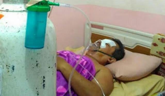 Begini Kondisi Terkini Guru Dasrul, Usai Jalani Operasi Bedah Hidung