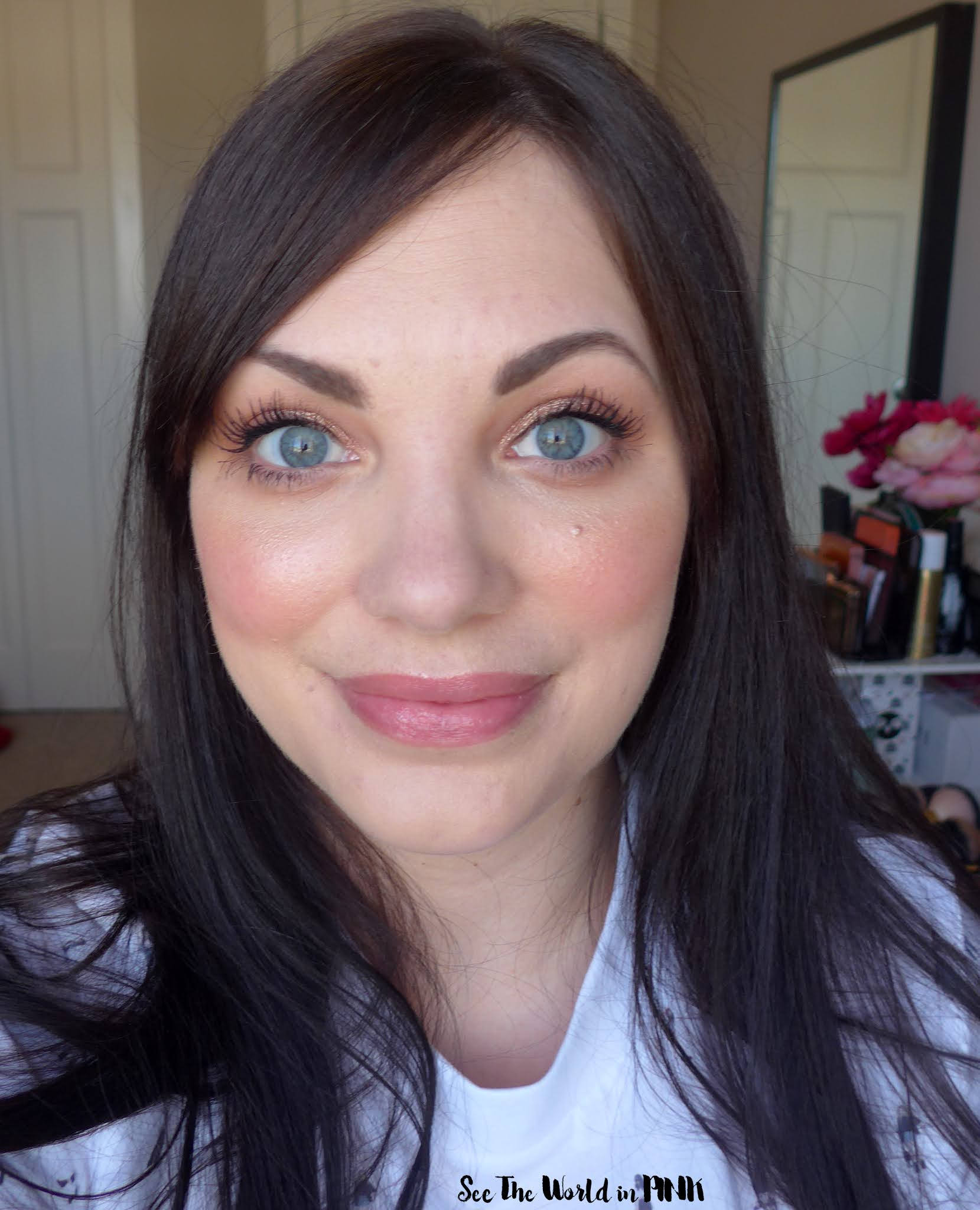 Full Face of Newer Drugstore Products