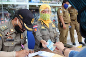 Satpol PP Kota Bandung Jaring 44 Pelanggar Hari Kedua Operasi Adaptasi Kebiasaan Baru di Kewilayahan
