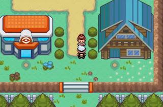 Pokemon Burning Ruby para GBA Centro Pokemon