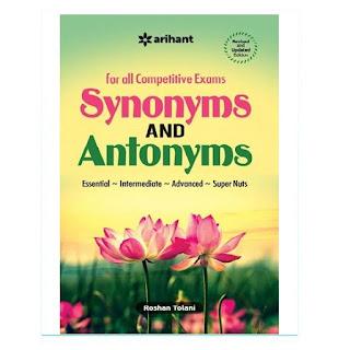 Arihant Synonyms and Antonyms (English Edition, Roshan Tolani)