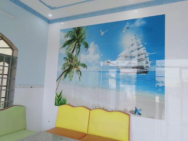 Phòng khách nhà cho thuê MT QL51 gần Cảng Cái Mép và KCN Phú Mỹ 3