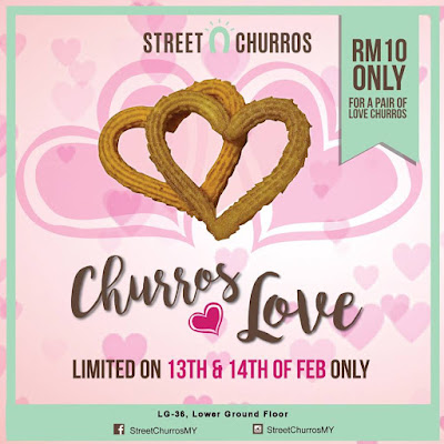 Street Churros Love Discount Promo