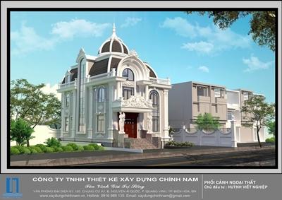 Thiết kế Biệt Thự đẹp Biên Hòa - Đồng Nai