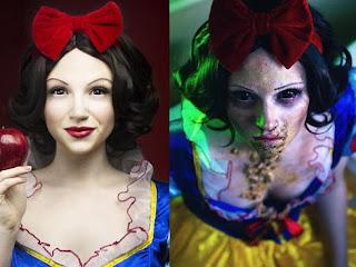 Quando as Princesas da Disney são transformadas em Zumbis