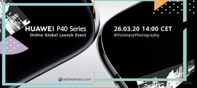 huawei p40 series launch today