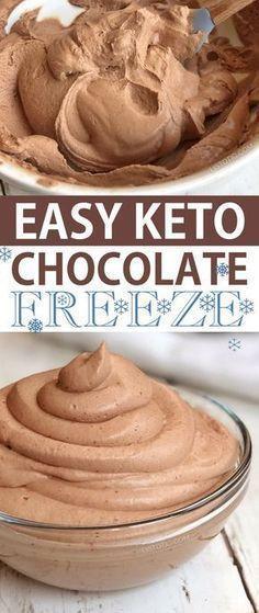 Easy Keto Chocolate Frosty Recipe