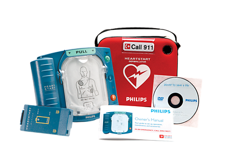 Philips HeartStart Home AED Defibrillator with Slim Carry Situation