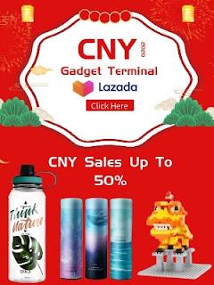 Lazada CNY off
