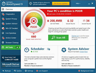 Auslogics BoostSpeed 8.2.1.0 DC 29.09.2016 Full Patch