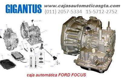 REPARACION Y VENTA DE CAJA AUTOMATICA FORD FOCUS