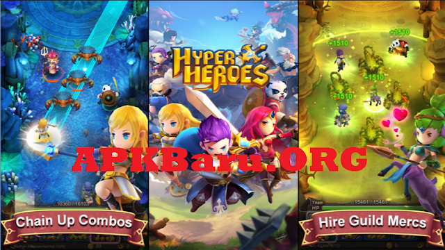 Hyper Heroes v1.0.6.54729 Mod Apk Data Terbaru (High Damage+God Mode)