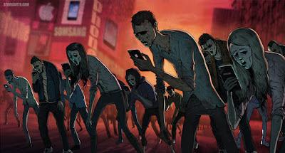 Smart Phones y zombi