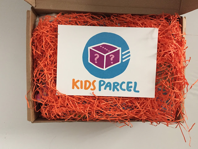 kids parcel mystery gift box