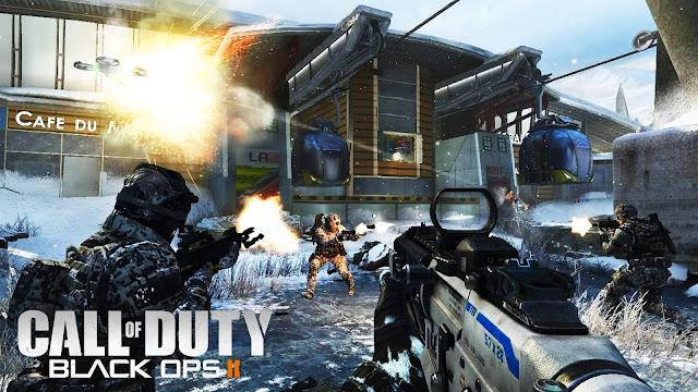 """""""Call of Duty: Black Ops II"""" Hot game bắn súng hành động 2012"""