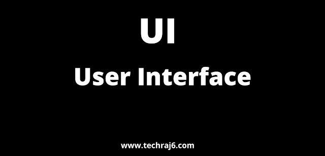 UI full form, What is the full form of UI