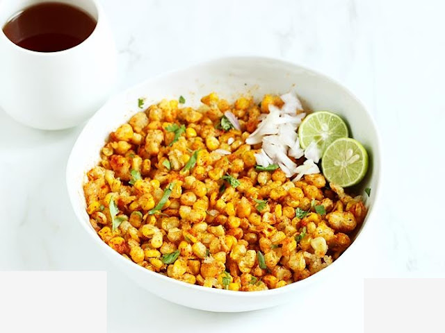 Fried Corn Spicy Crunchy Sweet Recipe at Home