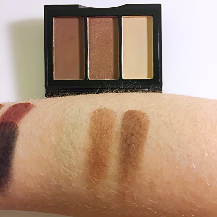 e.l.f. Sculpting Silk Eyeshadow Brown Beauties swatch
