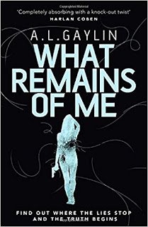What Remains of Me by A.L. Gaylin http://amzn.to/2u0zbCl