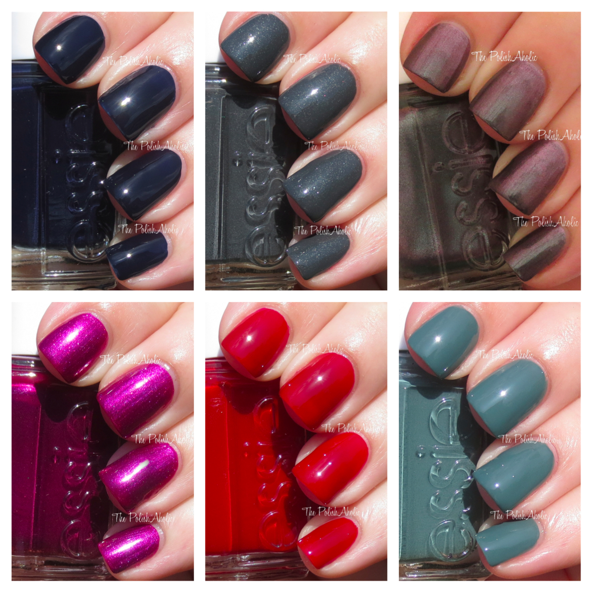 Essie Fall Nail Colors: The PolishAholic: Essie Fall 2013 Collection Swatches
