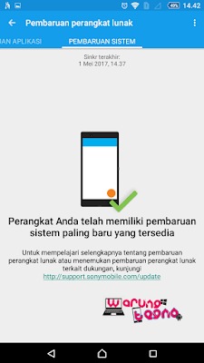 UPDATE  SONY XPERIA ANDROID™ 4