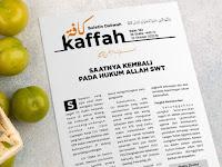 SAATNYA KEMBALI PADA HUKUM ALLAH SWT  -  Buletin Kaffah Edisi 163