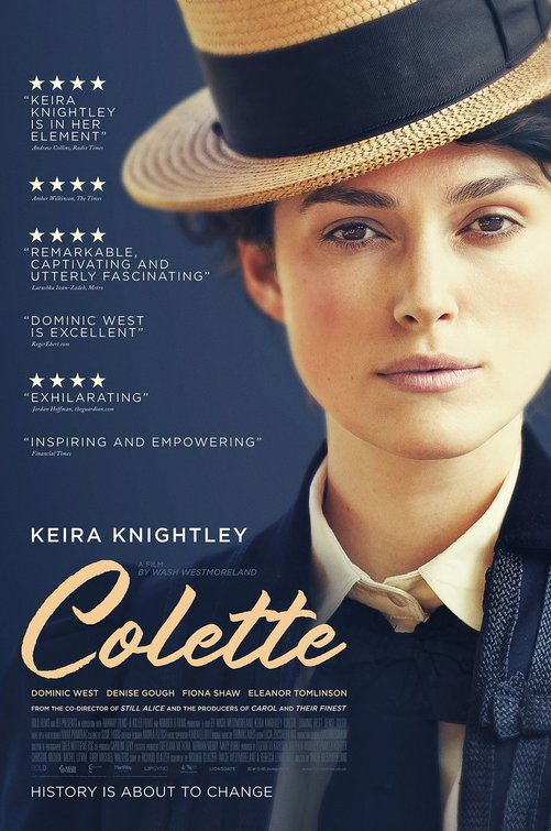 Colette movie poster
