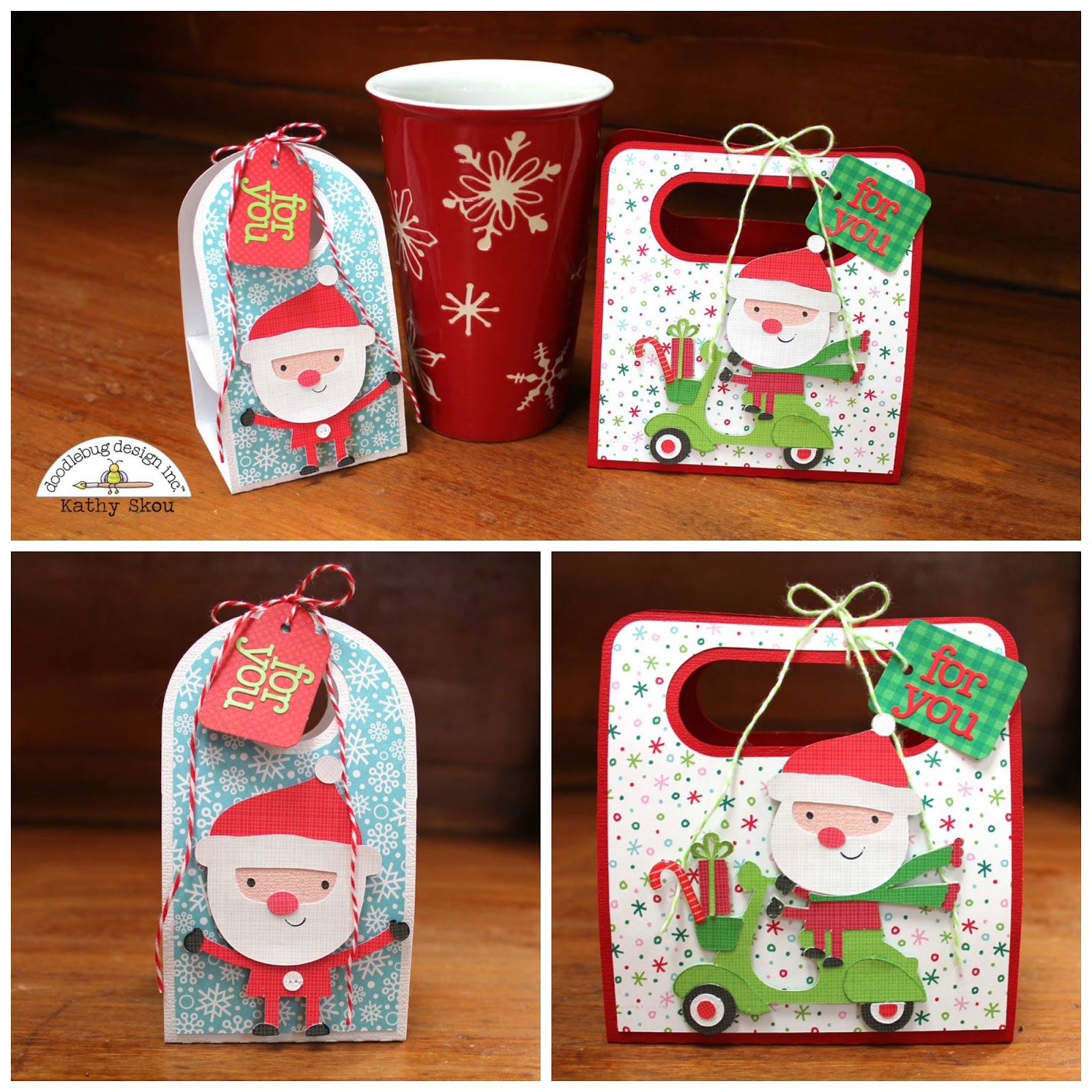 doodlebug design inc blog here comes santa claus cut files with kathy