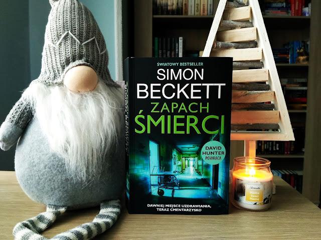 """ZAPACH ŚMIERCI"" - SIMON BECKETT"