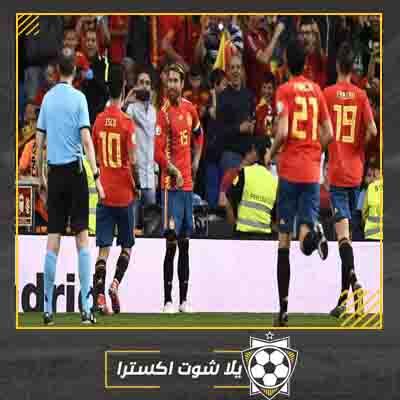 مشاهدة مباراة إسبانيا والسويد بث مباشر اليوم 15-10-2019 التصفيات المؤهلة لكأس الأمم الأوروبية