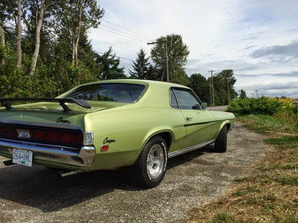 Craigslist Ca Vancouver >> 1969 Mercury Cougar   Auto Restorationice
