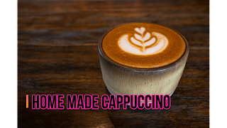 Home Made Cappuccino with 3 ingredients - Pure Veg
