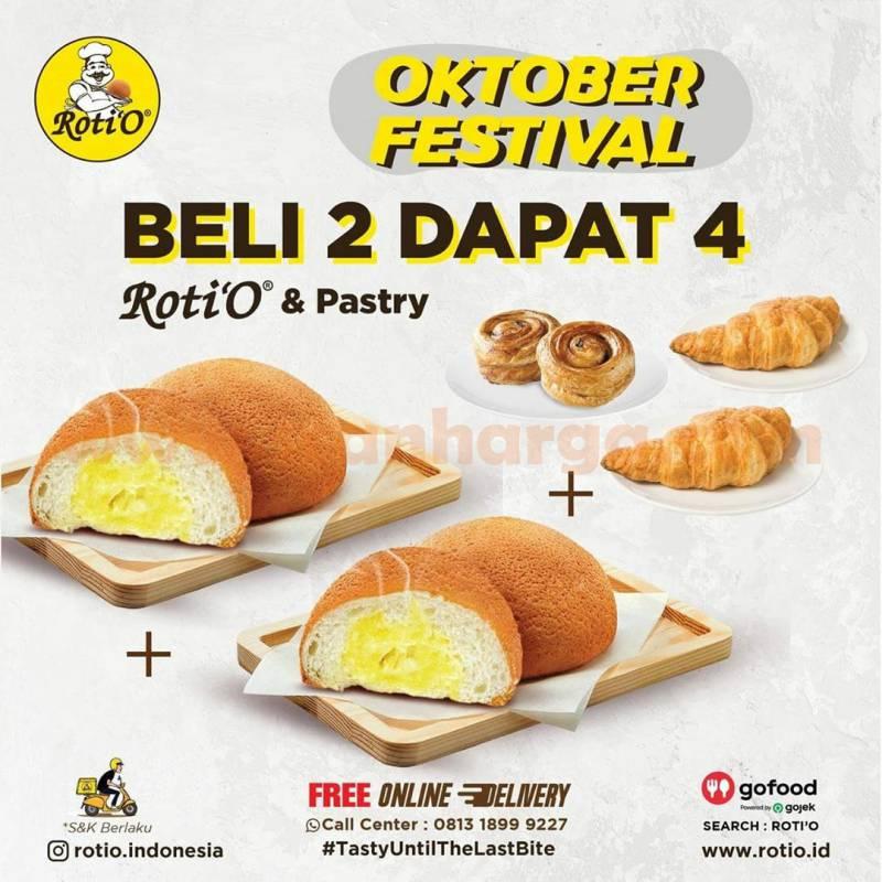 ROTI'O Promo Oktober Festival Perode 1 - 31 Oktober 2020