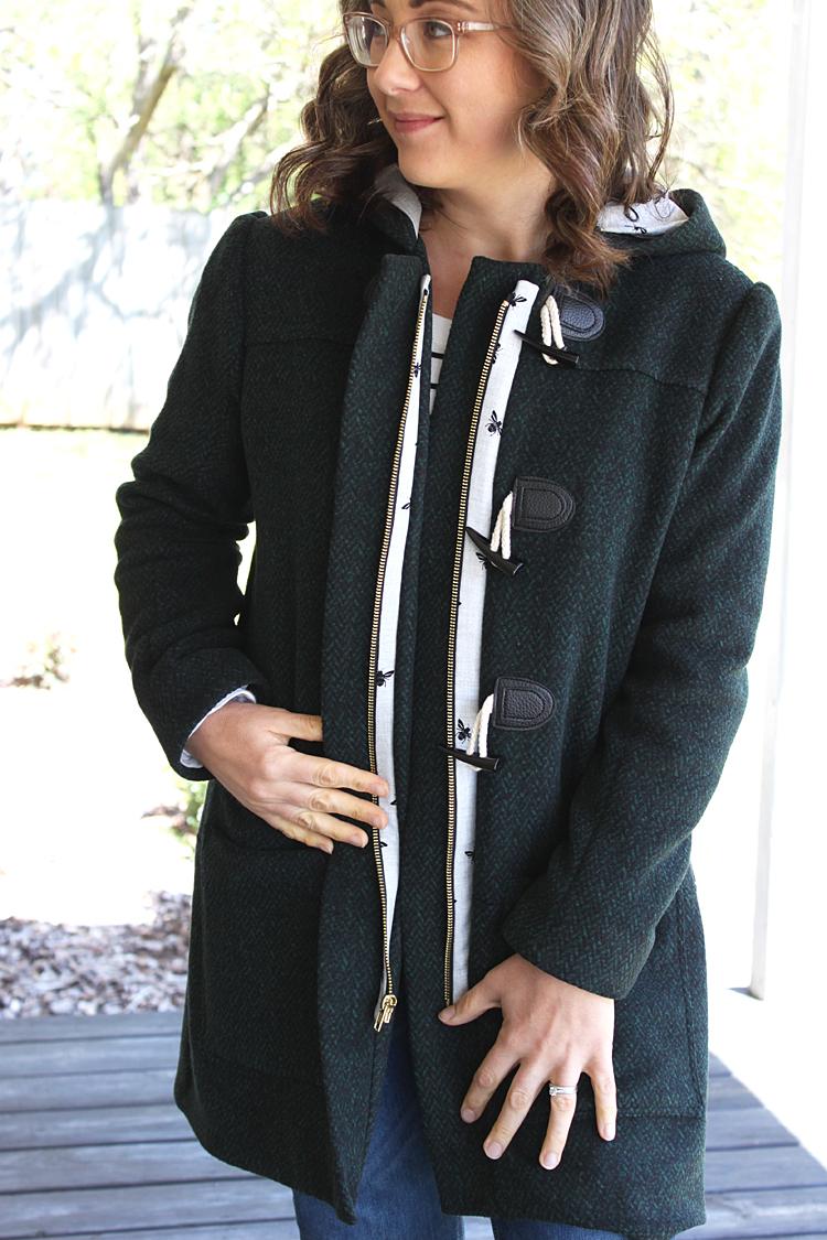 Cascade Duffle Coat // Sewing For Women