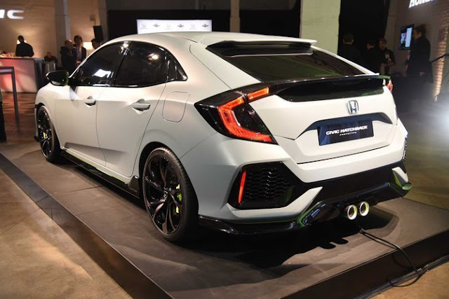Honda civic turbo hatchback warna putih
