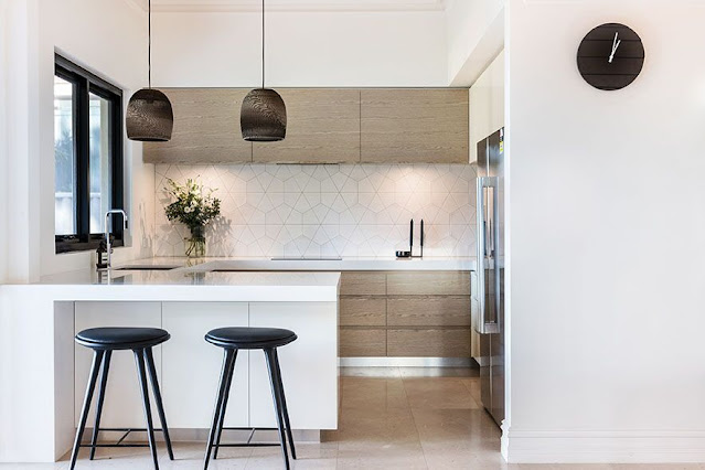 ห้องครัว Modern Minimalist ขนาดเล็ก