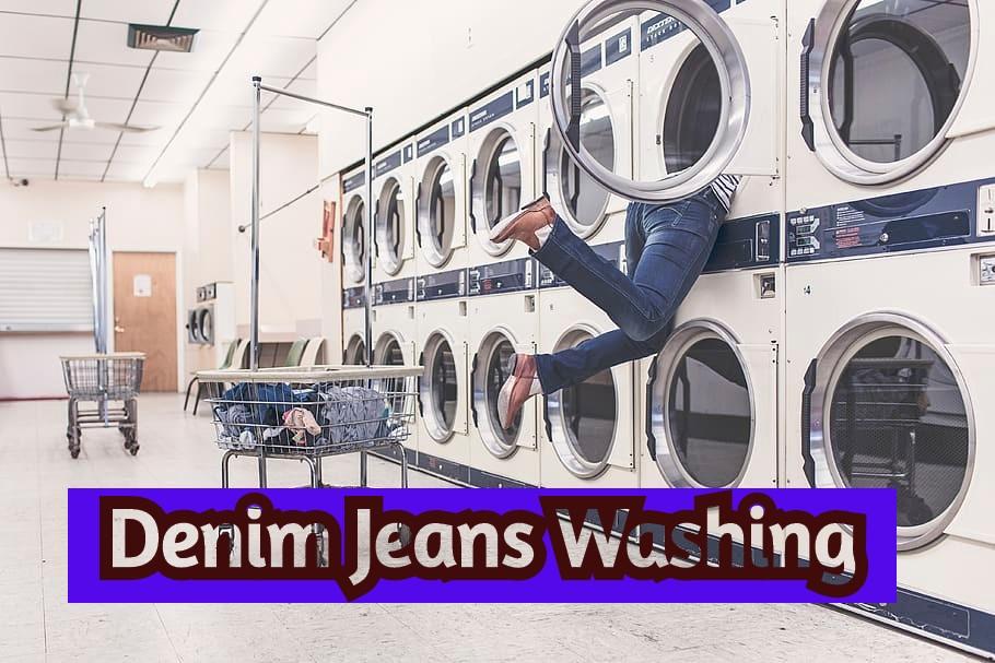 jeans washing