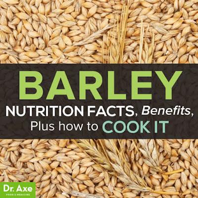 BARLEY, THE NUTRITIOUS GRAIN.