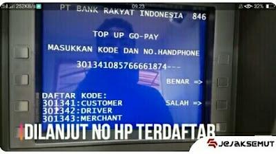 Masukan Kode dan No HP