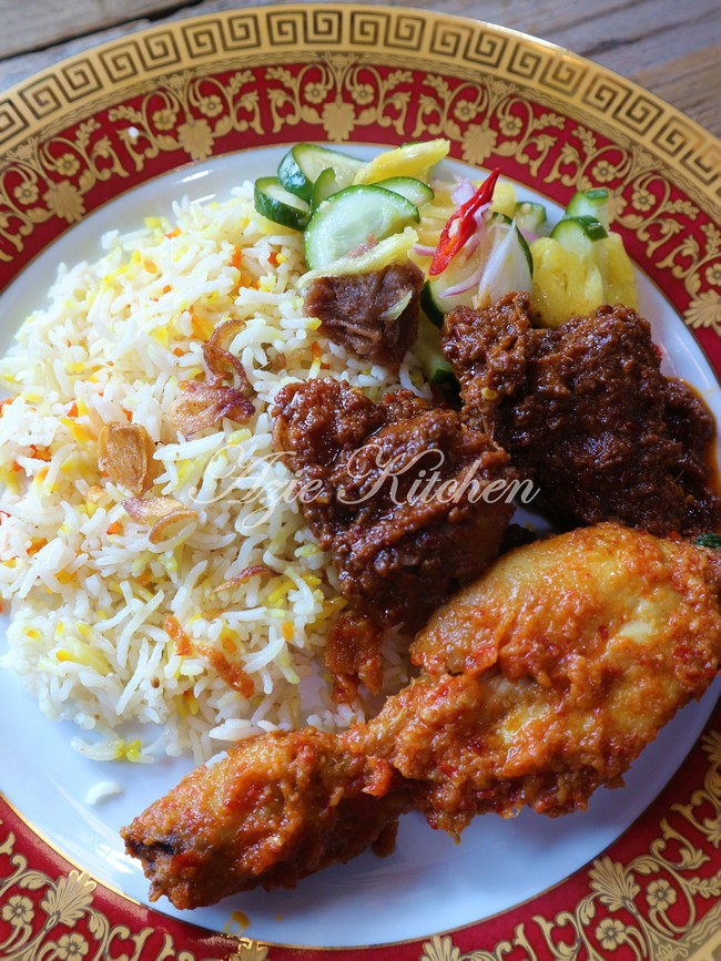 Nasi Beriani Johor Yang Sedap Azie Kitchen