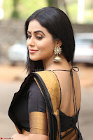 Poorna in Cute Backless Choli Saree Stunning Beauty at Avantika Movie platinum Disc Function ~  Exclusive 036.JPG